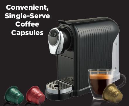 Convenient, Single-Serving Coffee
