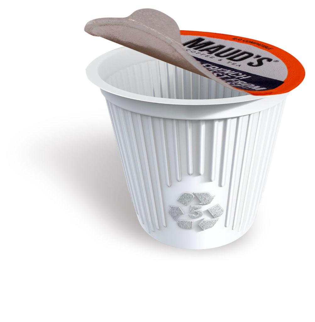 Easy peel, pull tab lid